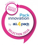 Logo sélection Pack Innovation all4pack 2016
